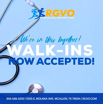 Walk Ins - Rio Grande Valley Orthopedics